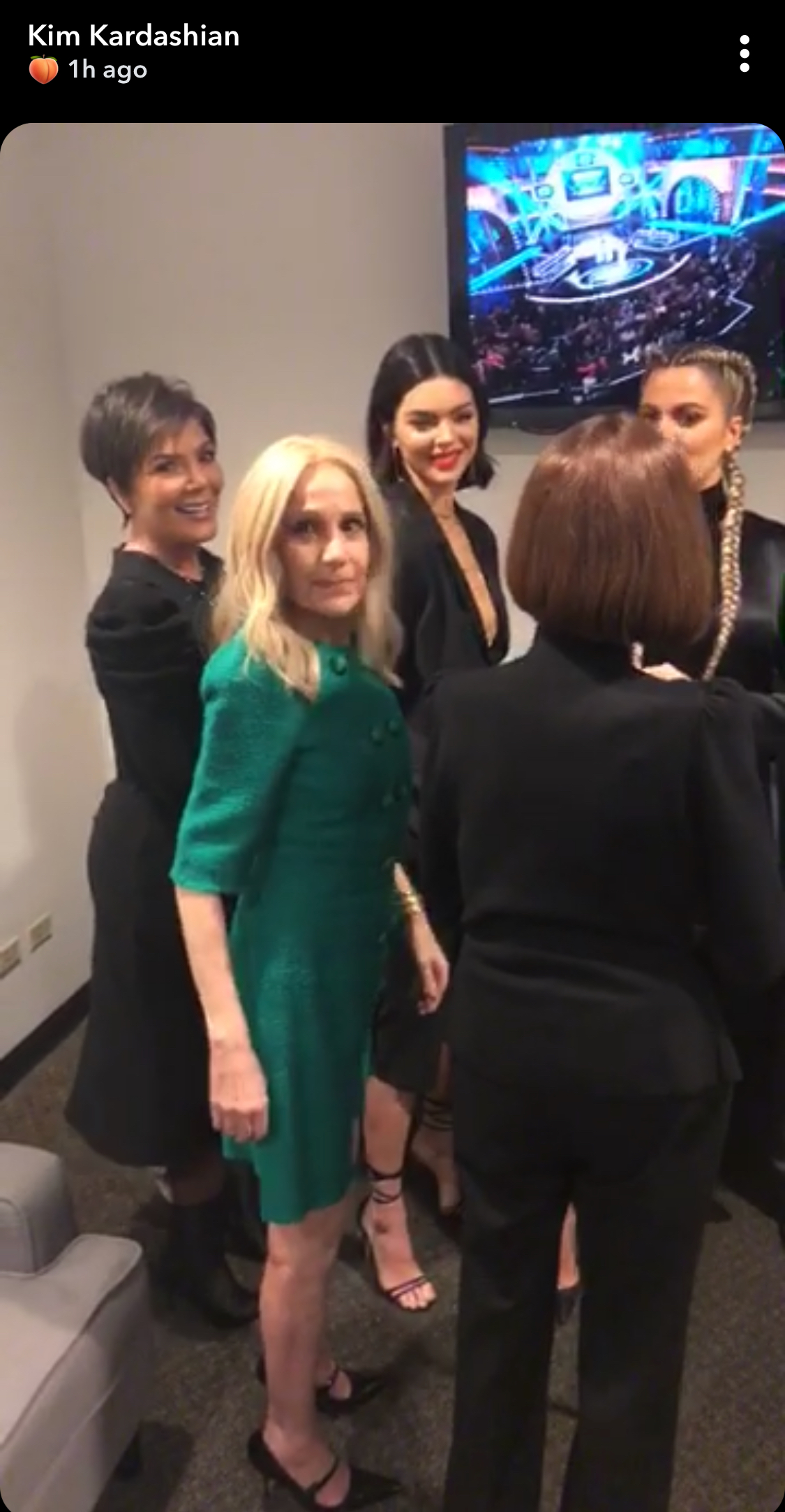 Kris Jenner, Kendall Jenner, Khloé Kardashian and Mary Jo M.J. Campbell (among others)