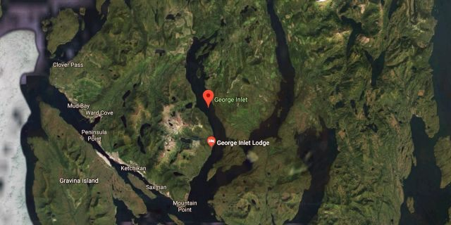 The planes collided in a closeness of George Inlet, nearby Ketchikan