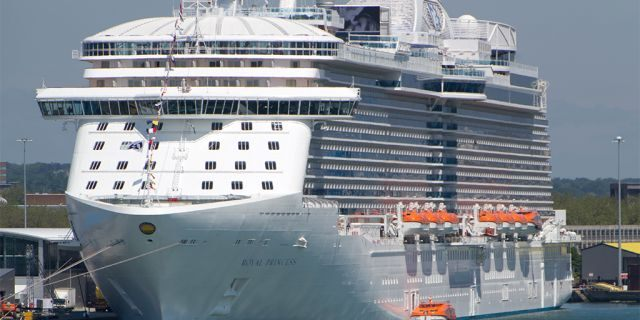 The Royal Princess journey ship