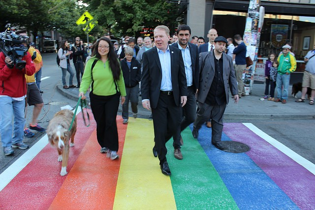 Mayor Ed Murray skeleton to anathema city-funded transport to North Carolina since of that states new thoroughfare of a law that allows taste opposite LGBTQ people.
