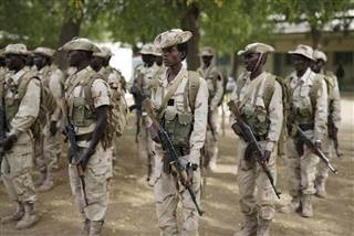 Image: Chadian infantry in 2015