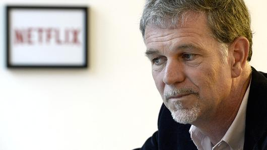 Netflix Co-founder and Chief Executive Officer Reed Hastings.