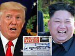 President Donald Trump bluntly told Kim Jong-Un he will bewail it if it issues a singular 'overt threat' opposite a United States