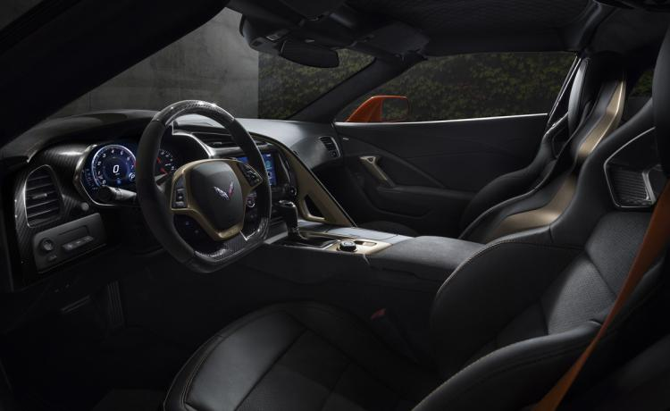 2019 Chevrolet Corvette ZR1 Interior Dashboard Front Seats