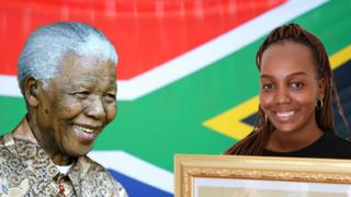 Mandela and his good grandaughter