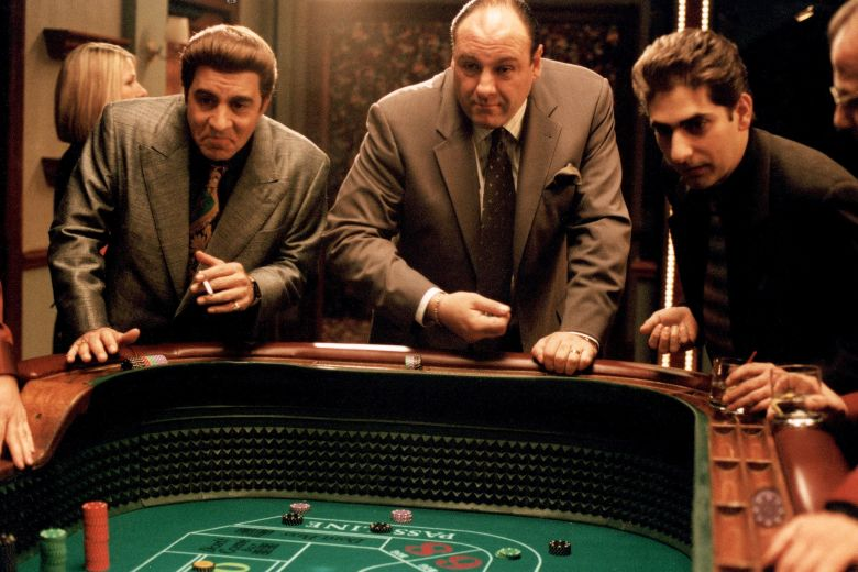 No Merchandising. Editorial Use Only. No Book Cover Usage.Mandatory Credit: Photo by HBO/Kobal/REX/Shutterstock (5886200bb)Steve Van Zandt, James Gandolfini, Michael ImperioliThe Sopranos - 1999HboUSATelevisionOpera
