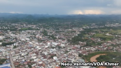 FILE - Loei provincial city, Thailand, is shown on Jul 23, 2016. (Neou Vannarin/VOA Khmer)