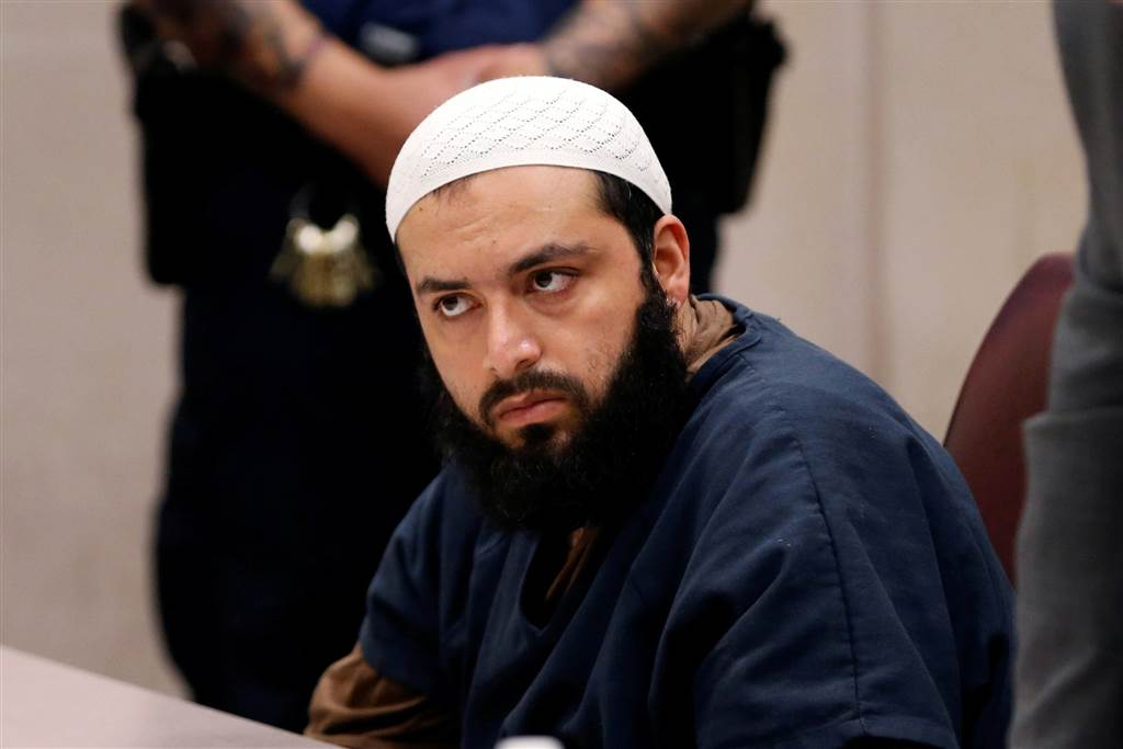 Image: Ahmad Khan Rahimi appears in Union County Superior Court for a conference in Elizabeth