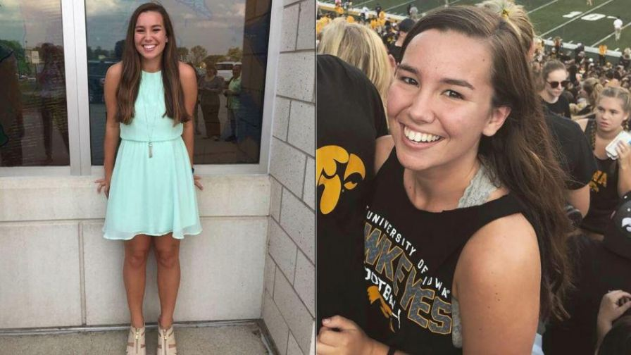 Authorities hunt for University of Iowa tyro Mollie Tibbetts who was reported blank after going on an dusk job.