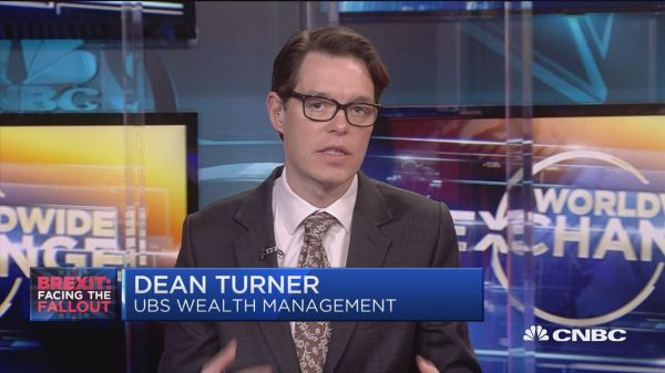 Dean Turner on Brexit's large impact