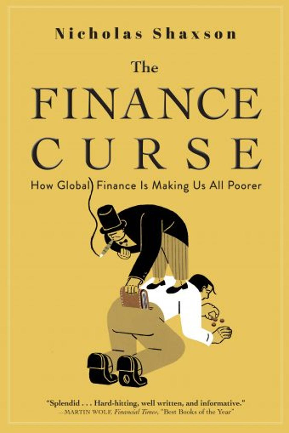 The Finance Curse Cover