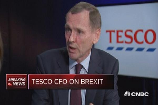 'Uncertainty continues' when it comes to Brexit: Tesco CFO