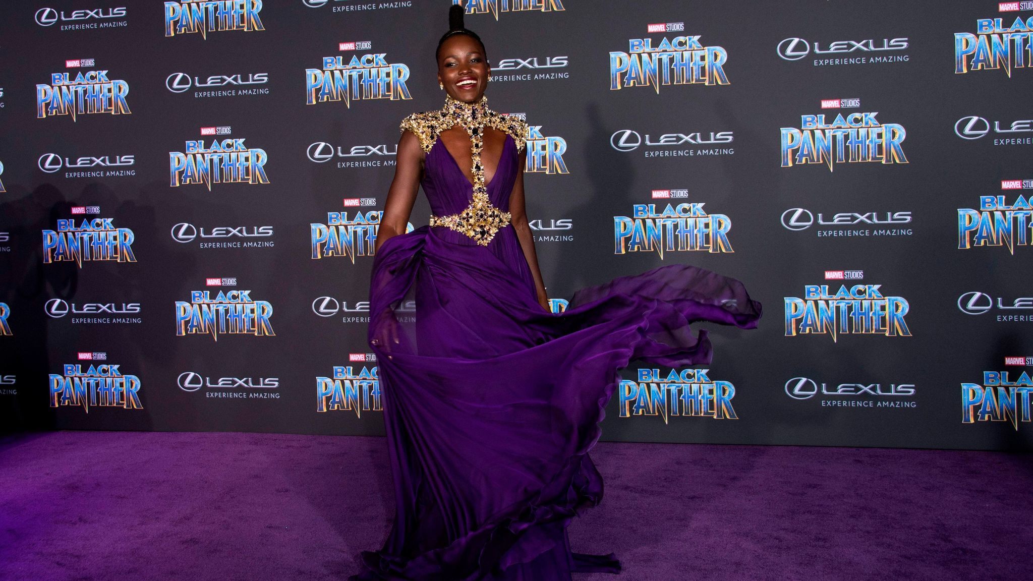 TOPSHOT-US-ENTERTAINMENT-FILM-PREMIERE-BLACKPANTHER
