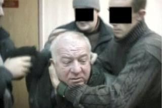 A still picture taken from an undated video shows Sergei Skripal