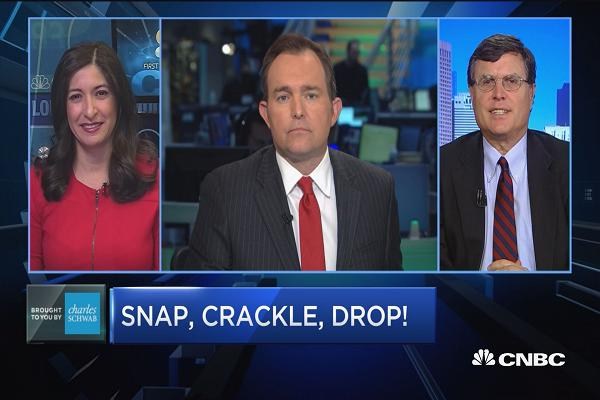 Trading Nation: Snap, crackle, drop