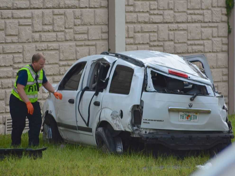 3 Girls Killed, 8 Injured in Car Crash Near Orlando, Florida
