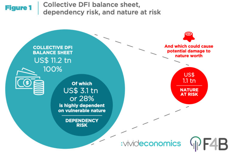 """The Finance for Biodiversity Initiative and Vivid Economics expelled Aligning Development Finance with Nature's Needs: Protecting Nature's Development Dividend"""" on Nov 3. The news estimates a dependency of growth financial institutions' (DFIs') common change square on exposed inlet (""""dependency risk""""), alongside a intensity repairs to inlet from t"""