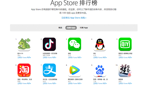 Tabikaeru: Journey Frog ranks during a tip of a list of a many renouned giveaway mobile apps on Apple's app store in China on Jan. 29, 2017.