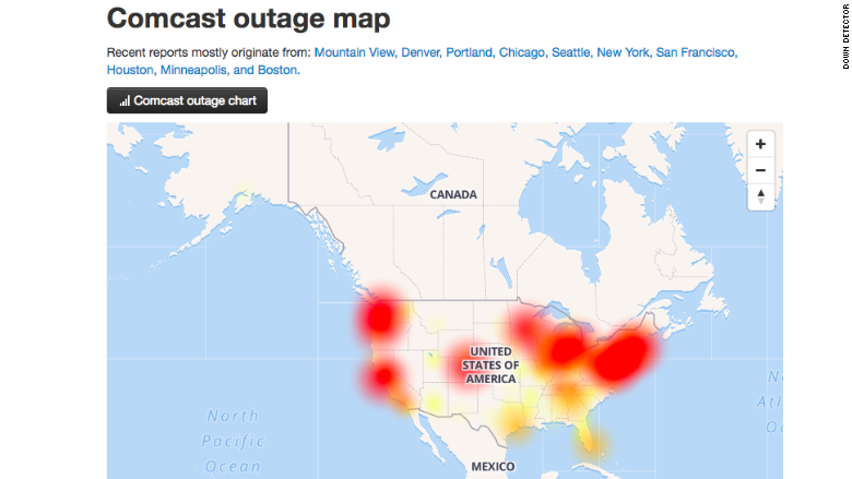 comcast outage