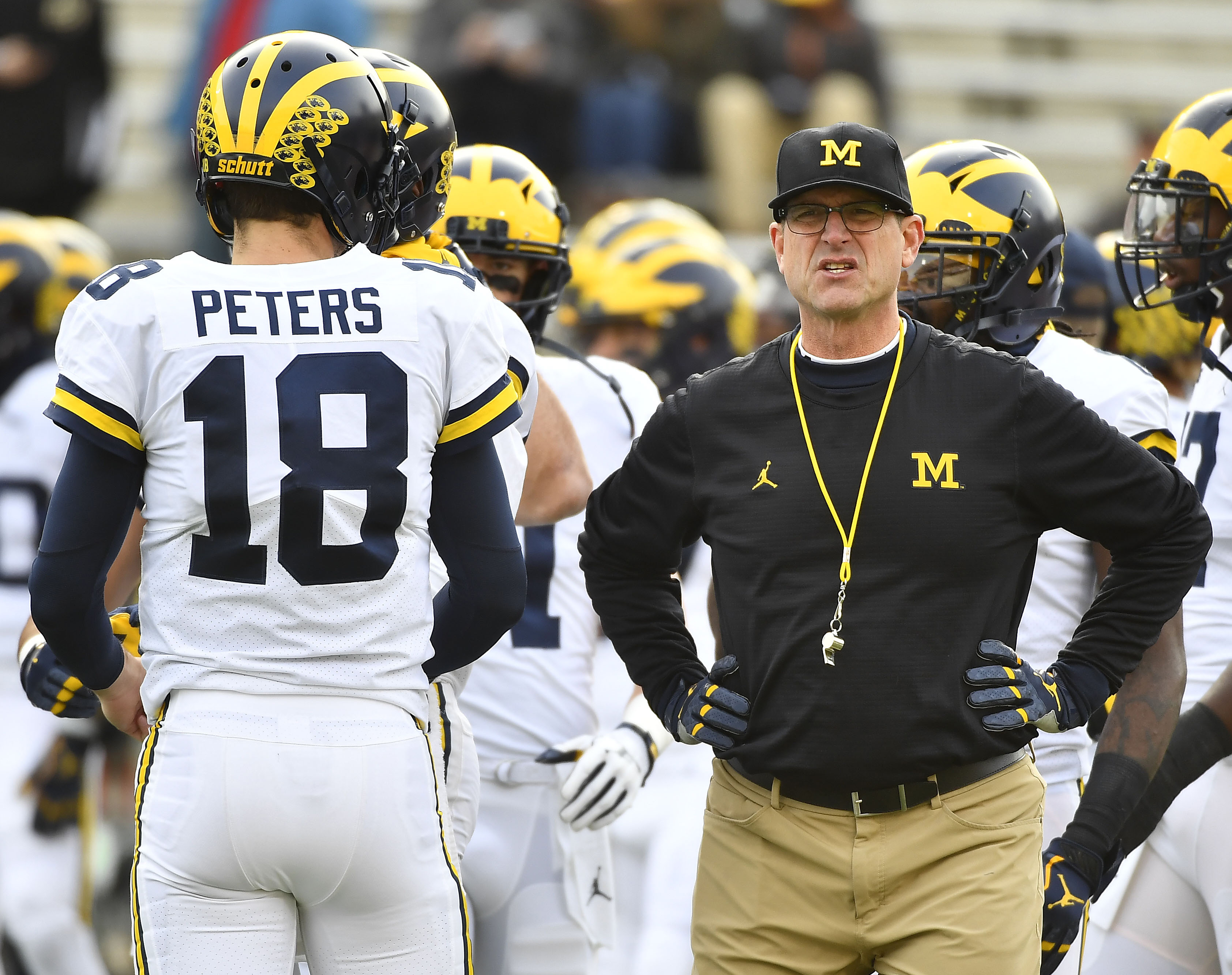 NCAA Football: Michigan during Maryland