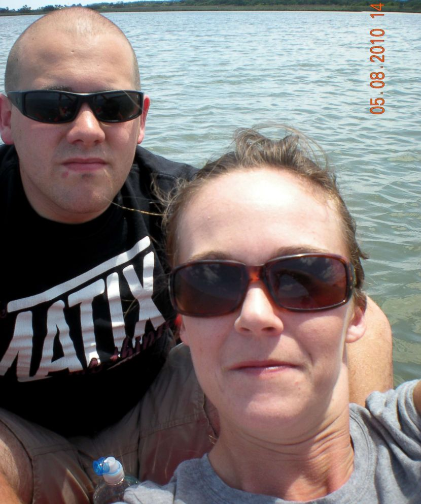 PHOTO: Jeremy Banks is seen here with Michelle OConnell in this undated photo.