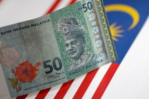 The ringgit slipped as many as 0.9 per cent, a many given Nov 2016, to 3.9870 during 8.49am, on May 14, 2018.