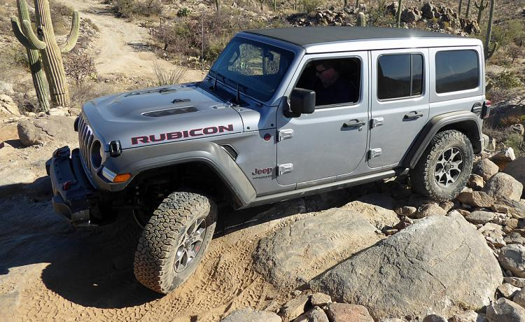 2018 Jeep Wrangler JL Rubicon Silver Action Off Road
