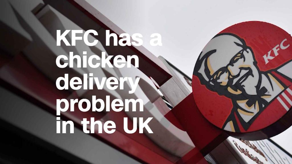 KFC has a duck smoothness problem in a UK