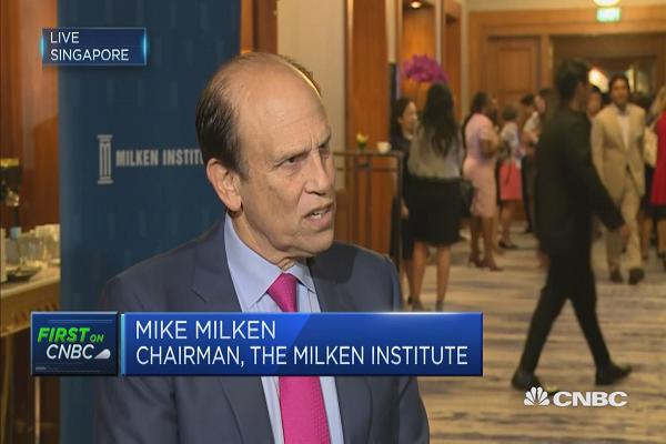 Mike Milken: We need to rise new jobs