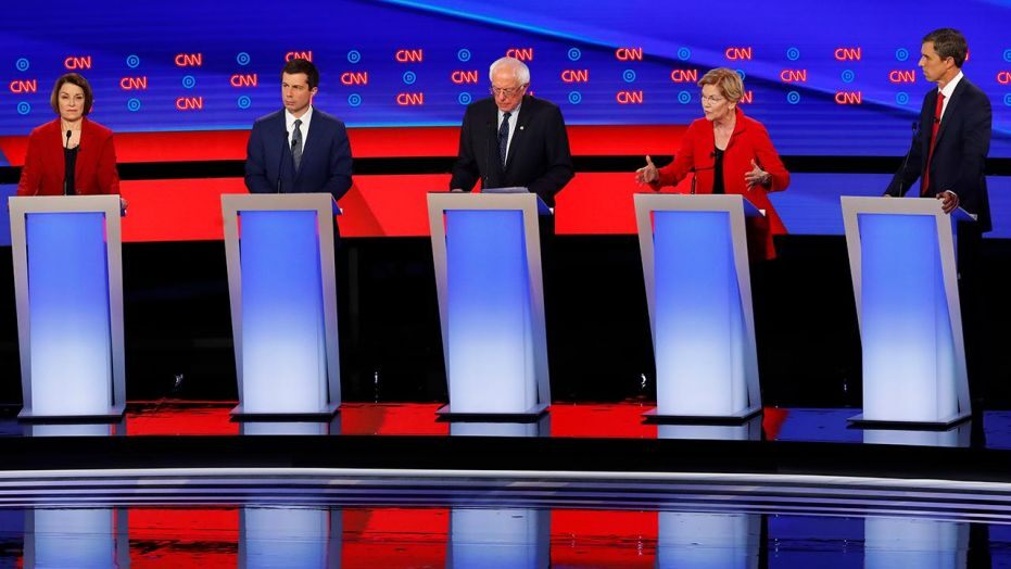 Who are a possibilities to watch formed off second Democratic debate?
