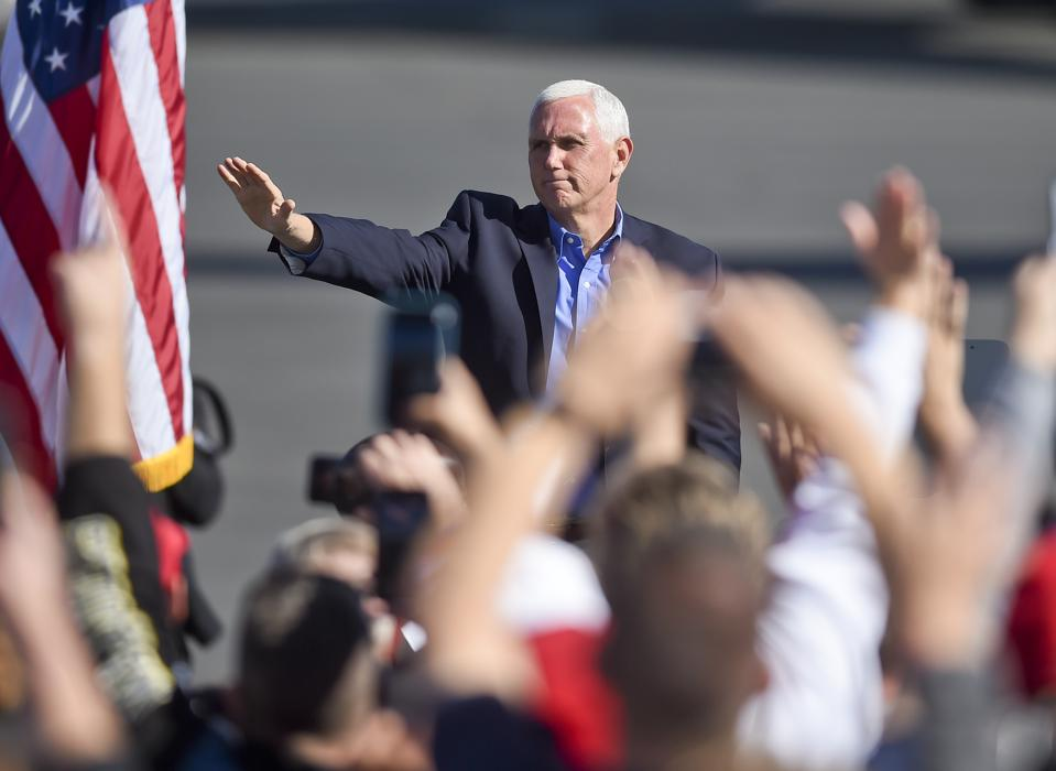 Vice President Mike Pence Campaign Stop In Reading Pennsylvania
