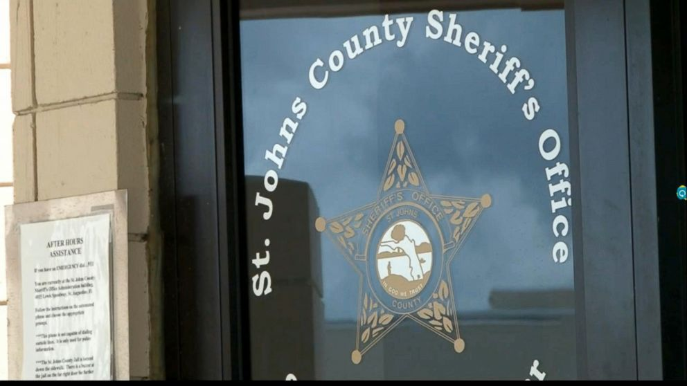 PHOTO: St. Johns County Sheriff, David Shoar, concurred missteps were finished by his dialect while questioning a genocide of Michelle O'Connell.