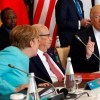 Trump fails to dedicate to Paris meridian agreement as he concludes initial abroad trip