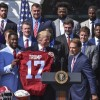 'Roll Tide': Alabama football group visits Trump during a White House