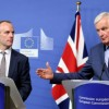 UK's Brexit apportion says he expects a understanding by Nov 21, argent rises