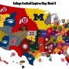 The College Football Empires Map: Georgia and Michigan State join leaders