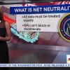 The recoil is building over a devise to tummy net neutrality