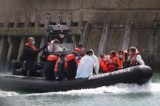 Channel migrants: Eight boats try channel to UK