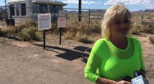 'Storm Area 51′ has visitor 'believers' mostly station nearby a gate, looking 'to a skies,' feeling a spirit