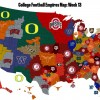 College Football Empires Map: Ohio State doubles the domain