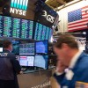 Stocks fall, oil snaps losing streak