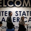US appeals courts to cruise a legality of Trump's latest transport ban