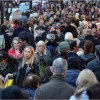 UK race grows by some-more than 400000