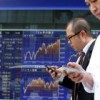 Asia share markets muted notwithstanding upbeat data