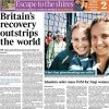 UK growth, Commonwealth Games 'gold rush' and Fifty Shades of 'Wahey'