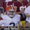 Welcome to Johnny Football, NFL: In Lone Pro Highlight Thus Far, He Flips Off …