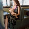 Olivia Wilde breastfeeds son Otis in new Glamour repository print shoot