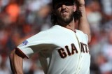 Bumgarner shuts down Cardinals, Giants lead NLCS 1-0