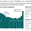Map: The Africa but Ebola
