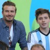 David Beckham and Son Brooklyn, 15, Involved in Car Accident